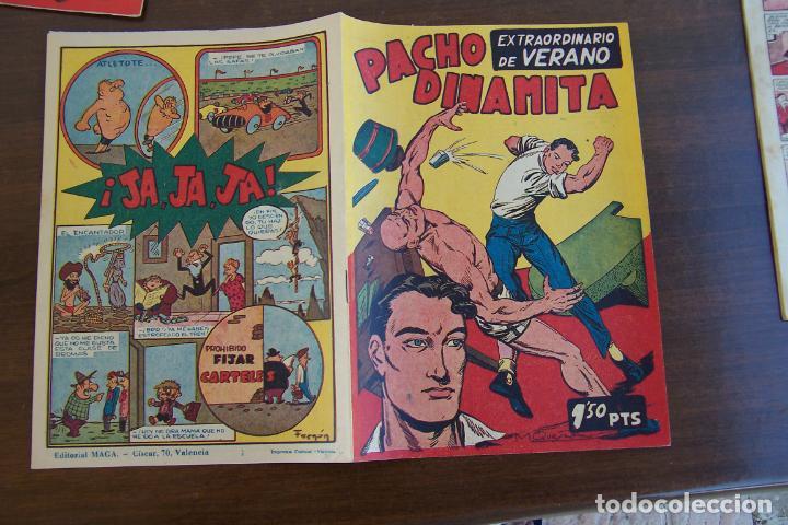 MAGA PACHO DINAMITA EN LOTE , VER DETALLES 115 EJ. (Tebeos y Comics - Maga - Pacho Dinamita)