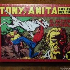 Tebeos: TONY Y ANITA (25 FACSÍMILES). Lote 213647385