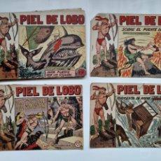 Livros de Banda Desenhada: PIEL DE LOBO, LOTE 18 COMICS ORIGINALES, EDITORIAL MAGA VALENCIA 1959. Lote 213955108