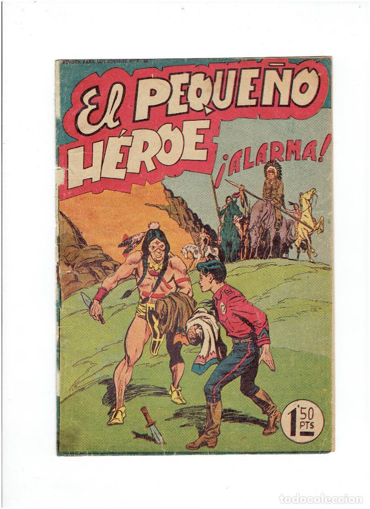 * EL PEQUEÑO HEROE * Nº 9 ORIGINAL * EDITORIAL MAGA 1957 * (Tebeos y Comics - Maga - Pequeño Héroe)