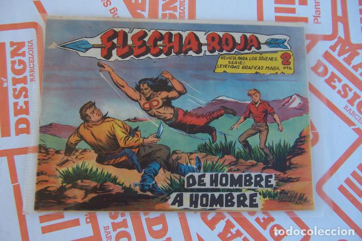 MAGA,- FLECHA ROJA Nº 72 (Tebeos y Comics - Maga - Flecha Roja)