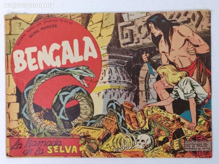 BENGALA N°2 EDT. MAGA 1959 (Tebeos y Comics - Maga - Bengala)