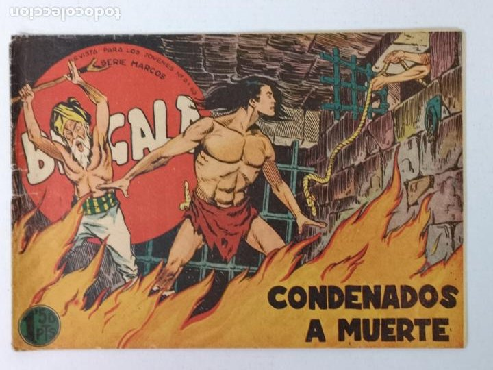 BENGALA N°11 EDT. MAGA 1959 (Tebeos y Comics - Maga - Bengala)