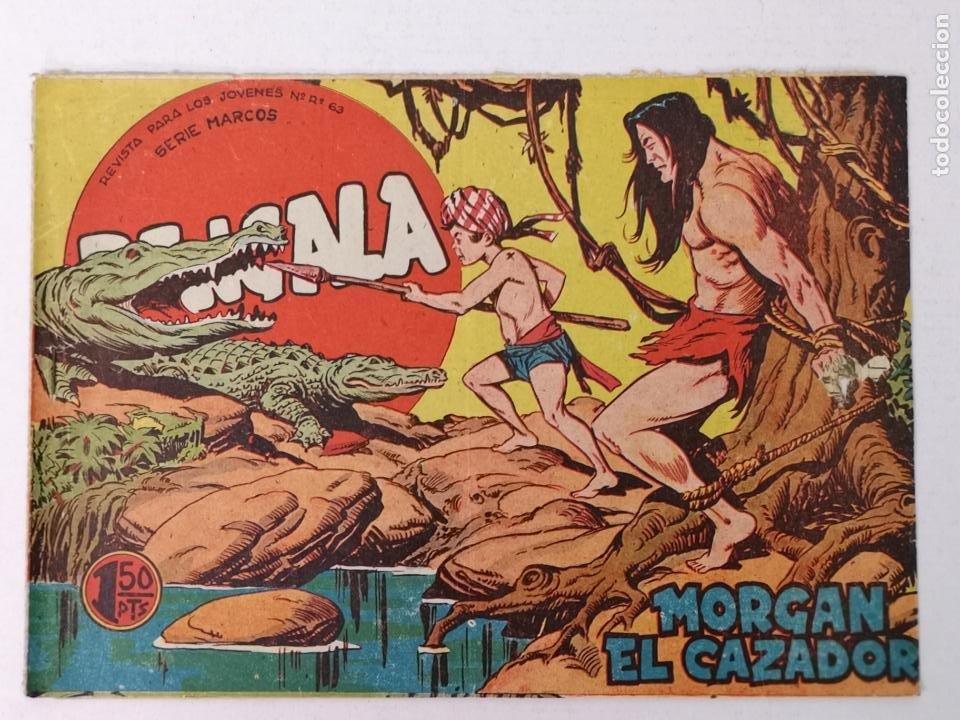 BENGALA N°15 EDT. MAGA 1959 (Tebeos y Comics - Maga - Bengala)