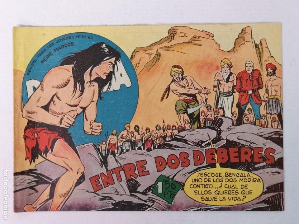 BENGALA N°26 EDT. MAGA 1959 (Tebeos y Comics - Maga - Bengala)