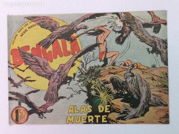 BENGALA N°35 EDT. MAGA 1959 (Tebeos y Comics - Maga - Bengala)
