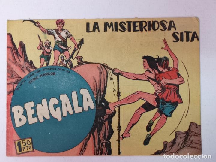 BENGALA N°37 EDT. MAGA 1959 (Tebeos y Comics - Maga - Bengala)