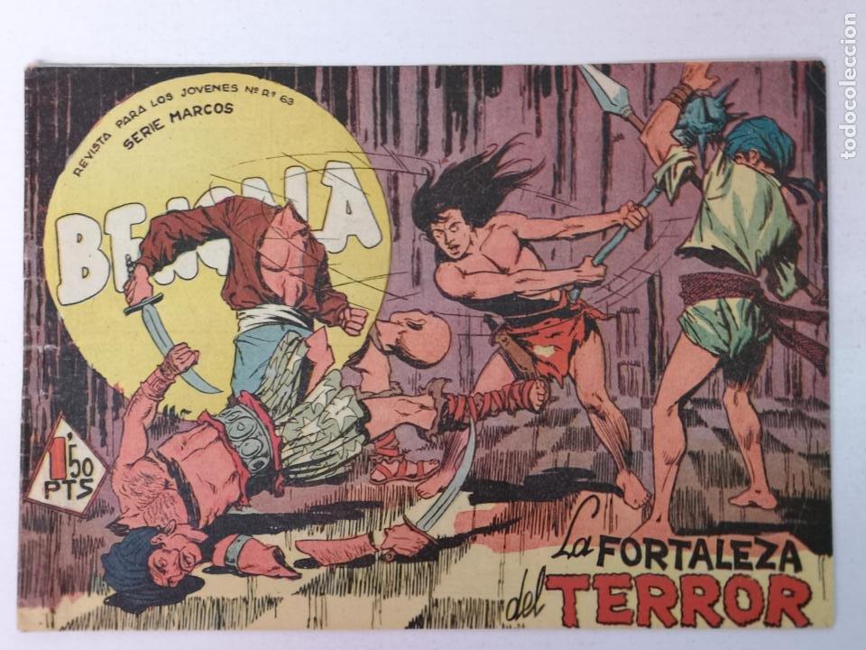 BENGALA N°41 EDT. MAGA 1959 (Tebeos y Comics - Maga - Bengala)