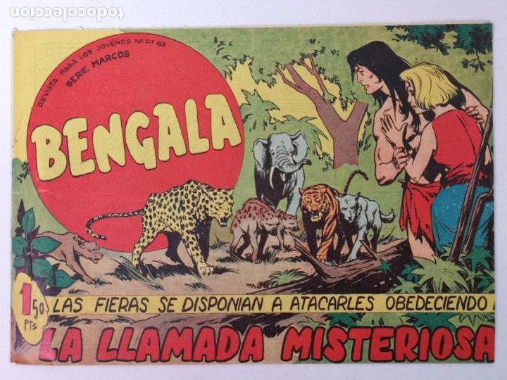 BENGALA N°53 EDT. MAGA 1959 (Tebeos y Comics - Maga - Bengala)