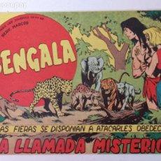Giornalini: BENGALA N°53 EDT. MAGA 1959. Lote 216677737