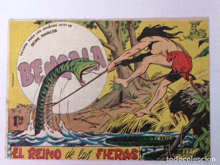 BENGALA N°54 EDT. MAGA 1959 (Tebeos y Comics - Maga - Bengala)