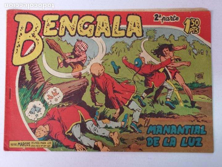 BENGALA 2°PARTE N°1 EDT. MAGA 1960 (Tebeos y Comics - Maga - Bengala)