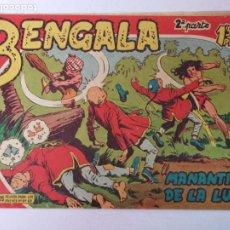 Livros de Banda Desenhada: BENGALA 2°PARTE N°1 EDT. MAGA 1960. Lote 216683863
