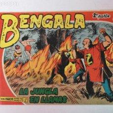 Tebeos: BENGALA 2°PARTE N°11 EDT. MAGA 1960. Lote 216685082