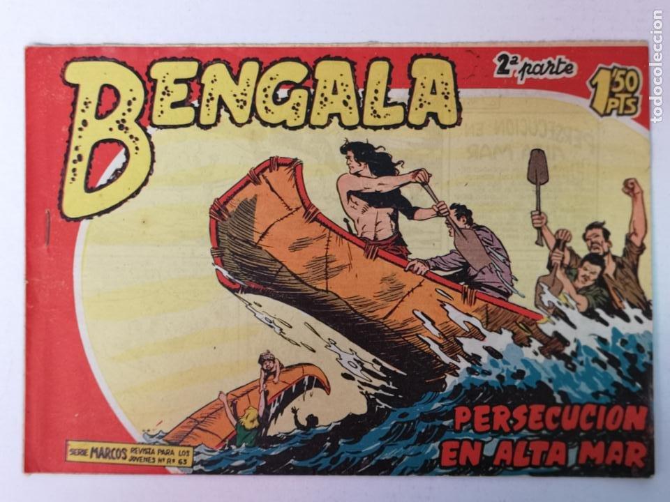 BENGALA 2°PARTE N°13 EDT. MAGA 1960 (Tebeos y Comics - Maga - Bengala)