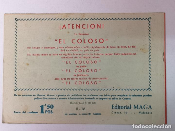 Tebeos: BENGALA 2°PARTE N°16 EDT. MAGA 1960 - Foto 2 - 216685587