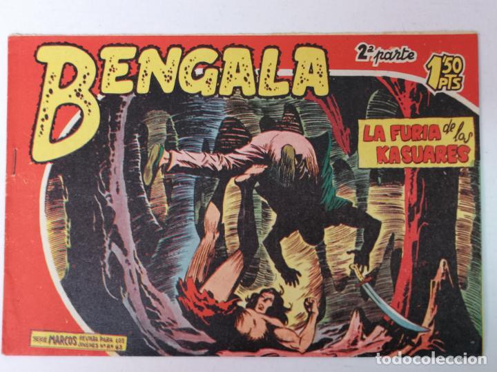 BENGALA 2°PARTE N°16 EDT. MAGA 1960 (Tebeos y Comics - Maga - Bengala)