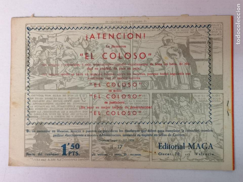 Tebeos: BENGALA 2°PARTE N°17 EDT. MAGA 1960 - Foto 2 - 216685676
