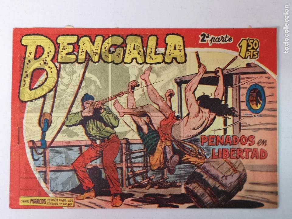 BENGALA 2°PARTE N°17 EDT. MAGA 1960 (Tebeos y Comics - Maga - Bengala)