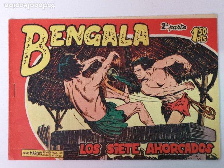 BENGALA 2°PARTE N°19 EDT. MAGA 1960 (Tebeos y Comics - Maga - Bengala)