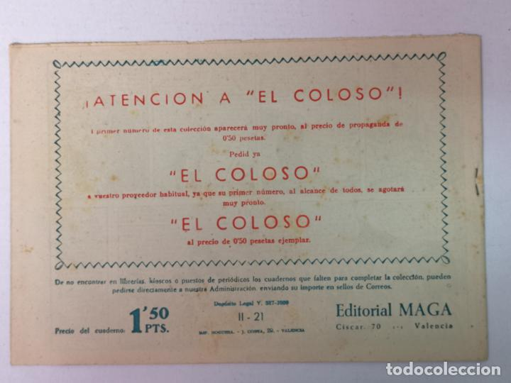 Tebeos: BENGALA 2°PARTE N°21 EDT. MAGA 1960 - Foto 2 - 216703927