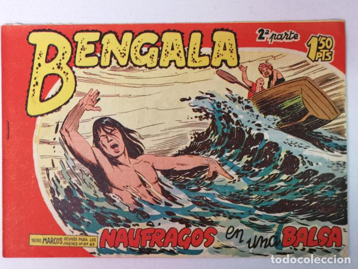 BENGALA 2°PARTE N°21 EDT. MAGA 1960 (Tebeos y Comics - Maga - Bengala)