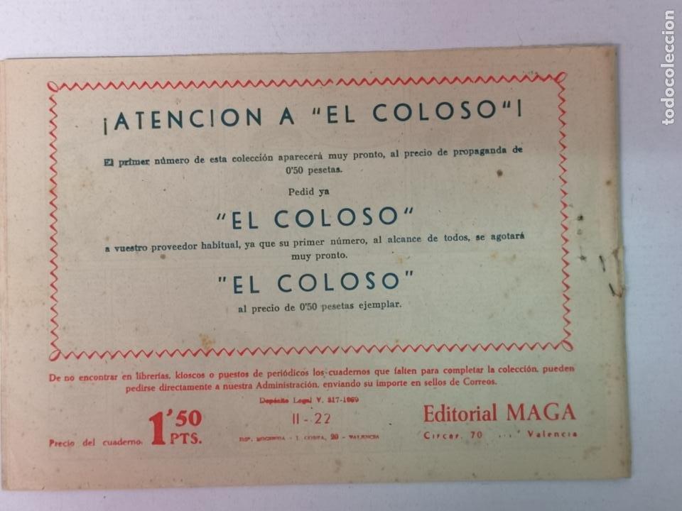 Tebeos: BENGALA 2°PARTE N°22 EDT. MAGA 1960 - Foto 2 - 216704052