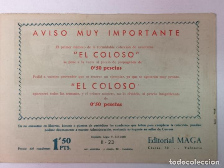 Tebeos: BENGALA 2°PARTE N°23 EDT. MAGA 1960 - Foto 2 - 216704442