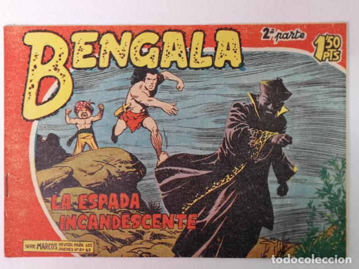 BENGALA 2°PARTE N°23 EDT. MAGA 1960 (Tebeos y Comics - Maga - Bengala)