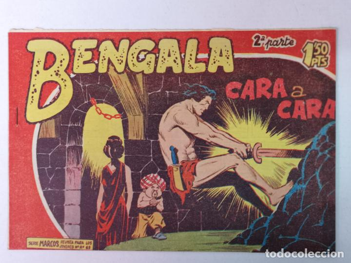 BENGALA 2°PARTE N°24 EDT. MAGA 1960 (Tebeos y Comics - Maga - Bengala)
