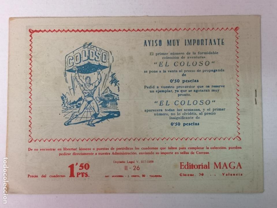 Tebeos: BENGALA 2°PARTE N°26 EDT. MAGA 1960 - Foto 2 - 216705561