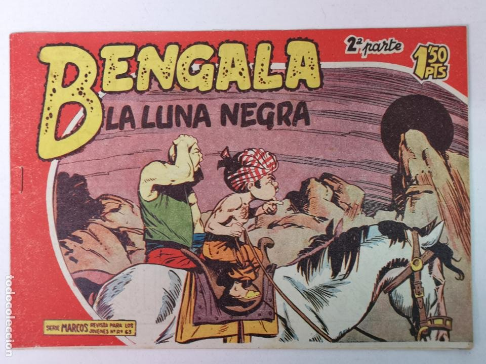 BENGALA 2°PARTE N°26 EDT. MAGA 1960 (Tebeos y Comics - Maga - Bengala)