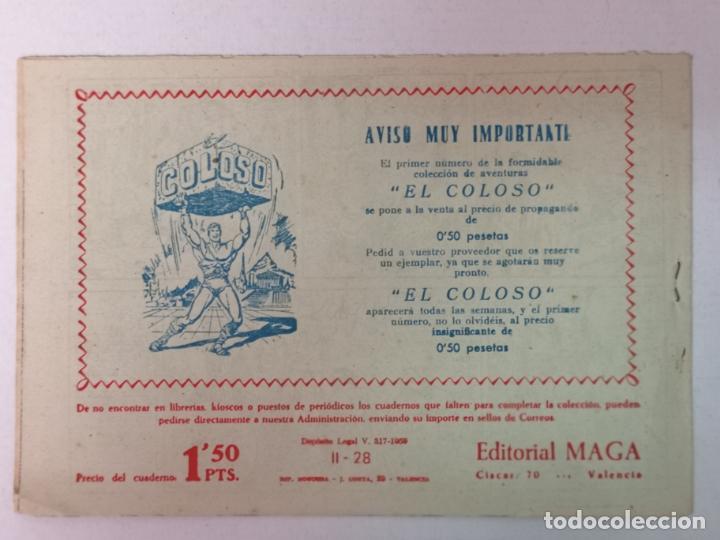 Tebeos: BENGALA 2°PARTE N°28 EDT. MAGA 1960 - Foto 2 - 216706711
