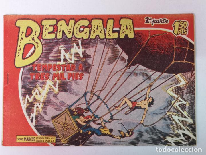 BENGALA 2°PARTE N°28 EDT. MAGA 1960 (Tebeos y Comics - Maga - Bengala)