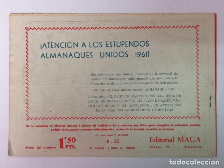Tebeos: BENGALA 2°PARTE N°30 EDT. MAGA 1960 - Foto 2 - 216706915