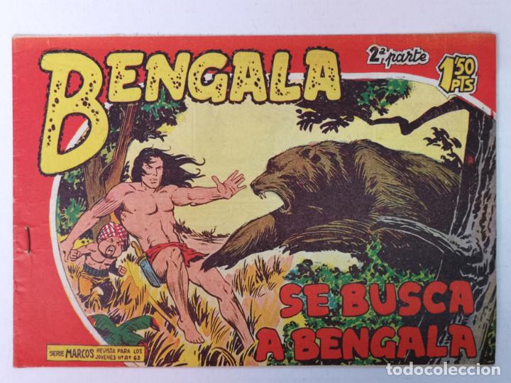 BENGALA 2°PARTE N°30 EDT. MAGA 1960 (Tebeos y Comics - Maga - Bengala)