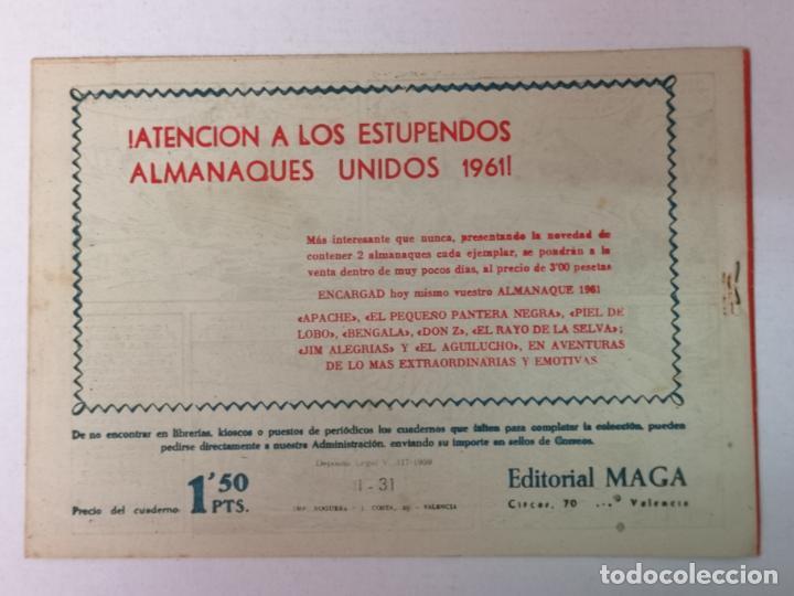 Tebeos: BENGALA 2°PARTE N°31 EDT. MAGA 1960 - Foto 2 - 216707055