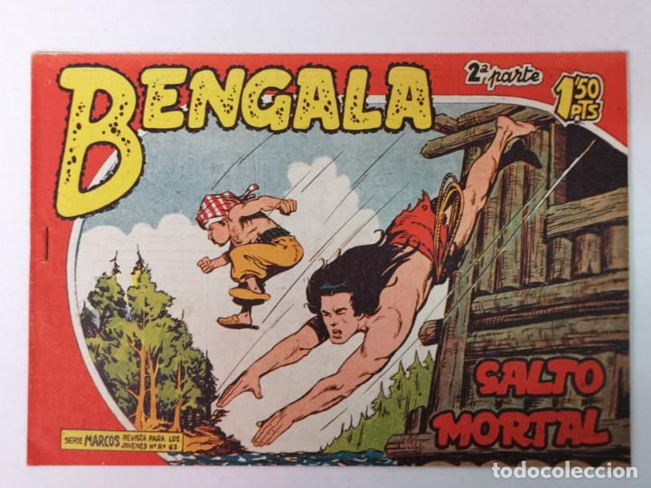 BENGALA 2°PARTE N°31 EDT. MAGA 1960 (Tebeos y Comics - Maga - Bengala)