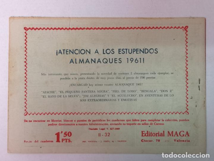 Tebeos: BENGALA 2°PARTE N°32 EDT. MAGA 1960 - Foto 2 - 216707182