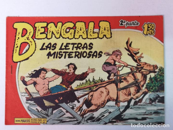 BENGALA 2°PARTE N°32 EDT. MAGA 1960 (Tebeos y Comics - Maga - Bengala)