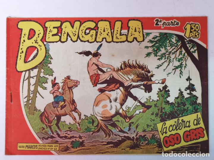 BENGALA 2°PARTE N°33 EDT. MAGA 1960 (Tebeos y Comics - Maga - Bengala)