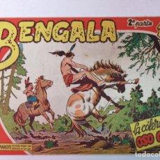 Livros de Banda Desenhada: BENGALA 2°PARTE N°33 EDT. MAGA 1960. Lote 216707307