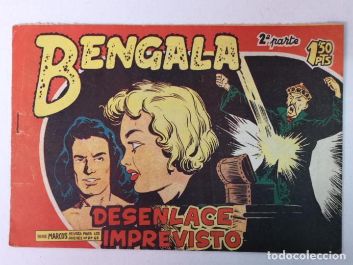 BENGALA 2°PARTE N°45 EDT. MAGA 1960 (Tebeos y Comics - Maga - Bengala)