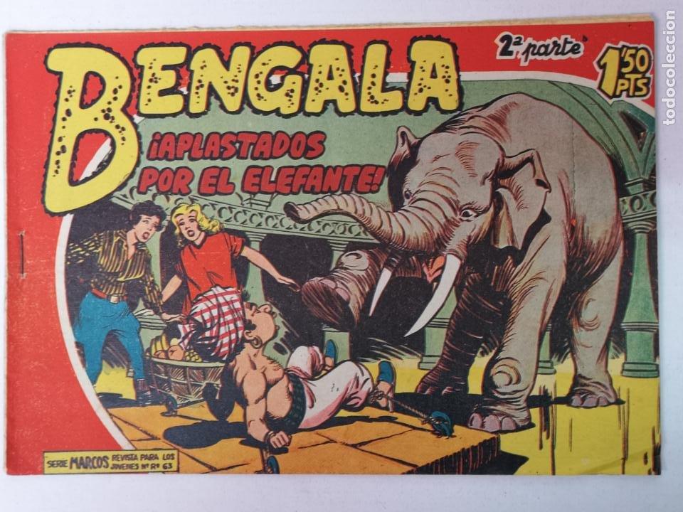 BENGALA 2°PARTE N°5 EDT. MAGA 1960 (Tebeos y Comics - Maga - Bengala)