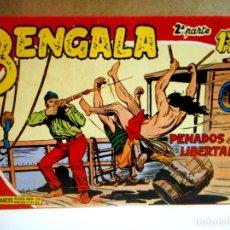 Livros de Banda Desenhada: BENGALA Nº 17 PENADOS EN LIBERTAD (FACSÍMIL ). Lote 217026161