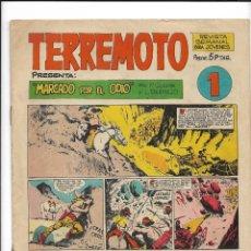 Tebeos: TERREMOTO PRESENTA APACHE AÑO 1964 COLECCIÓN COMPLETA SON 14 TEBEOS ORIGINALES NUEVOS. Lote 218630527