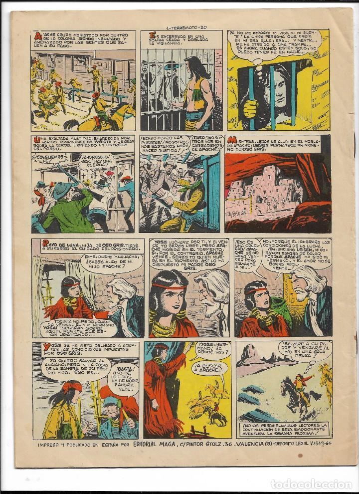 Tebeos: Terremoto Presenta Apache Año 1964 Colección Completa son 14 Tebeos Originales nuevos - Foto 2 - 218630527