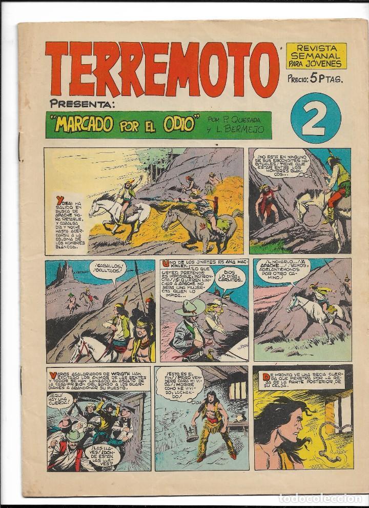 Tebeos: Terremoto Presenta Apache Año 1964 Colección Completa son 14 Tebeos Originales nuevos - Foto 3 - 218630527