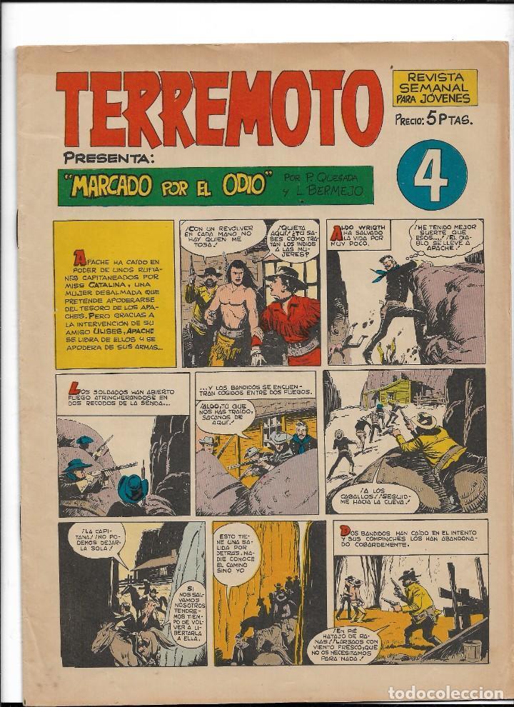 Tebeos: Terremoto Presenta Apache Año 1964 Colección Completa son 14 Tebeos Originales nuevos - Foto 5 - 218630527