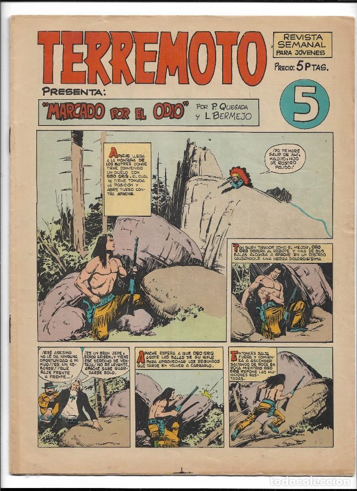 Tebeos: Terremoto Presenta Apache Año 1964 Colección Completa son 14 Tebeos Originales nuevos - Foto 6 - 218630527